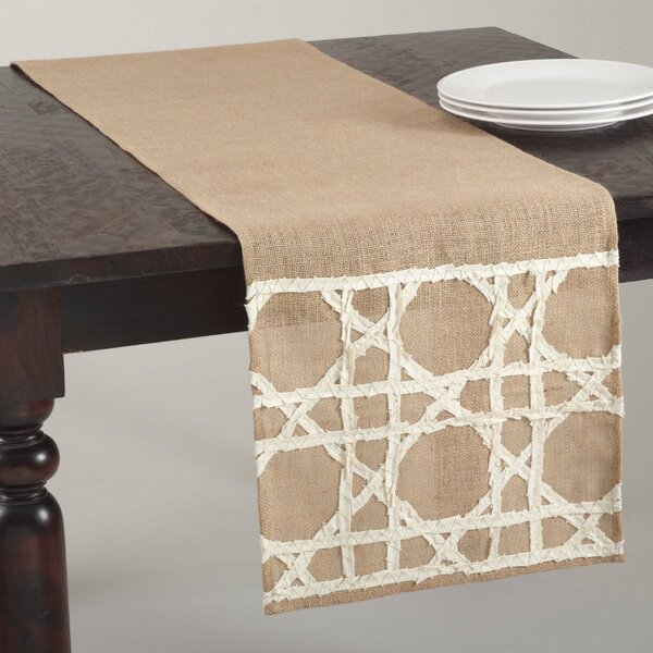 Fretwork Table Runner by Saro