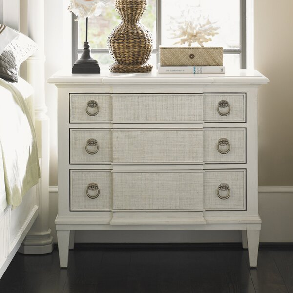 Ivory Key Tuckers Point 3 Drawer Dresser by Tommy Bahama Home