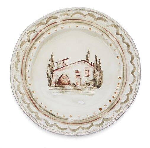 Villaggio Round Platter by Arte Italica