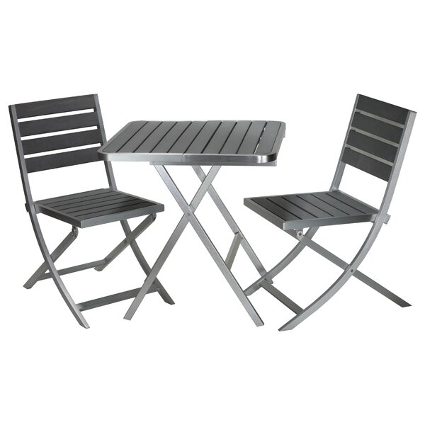 Maxwell 3 Piece Bistro Set by Cortesi Home