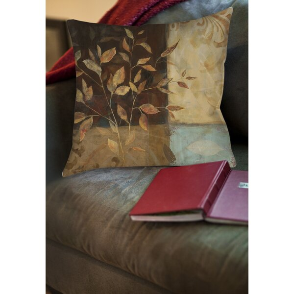Amie Square Printed Throw Pillow by Fleur De Lis Living