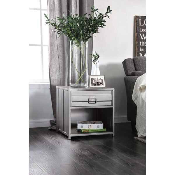 Lancaster 1 Drawer Nightstand by 17 Stories