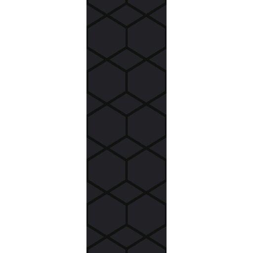 Mcnulty Hand-Loomed Black Area Rug by Brayden Studio