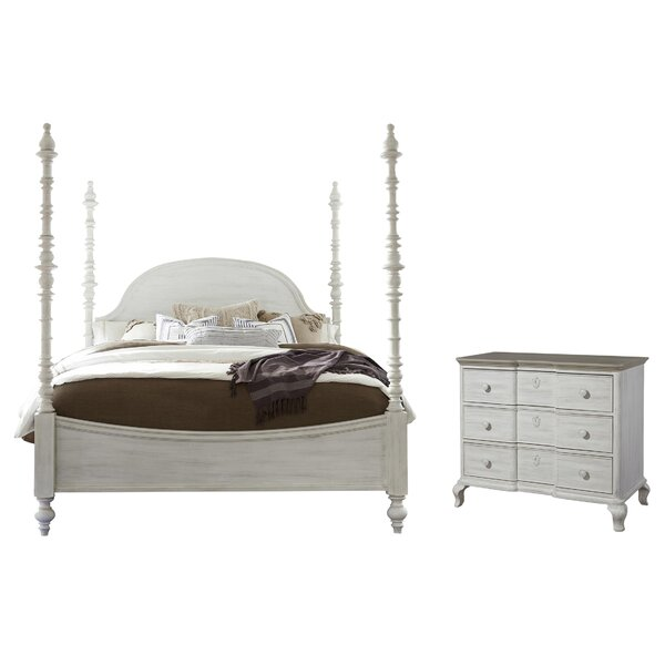 Bailes Four Poster Configurable Bedroom Set by Canora Grey
