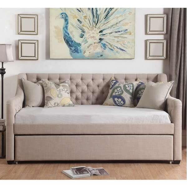 Wicker Park Twin Daybed with Trundle by Willa Arlo Interiors