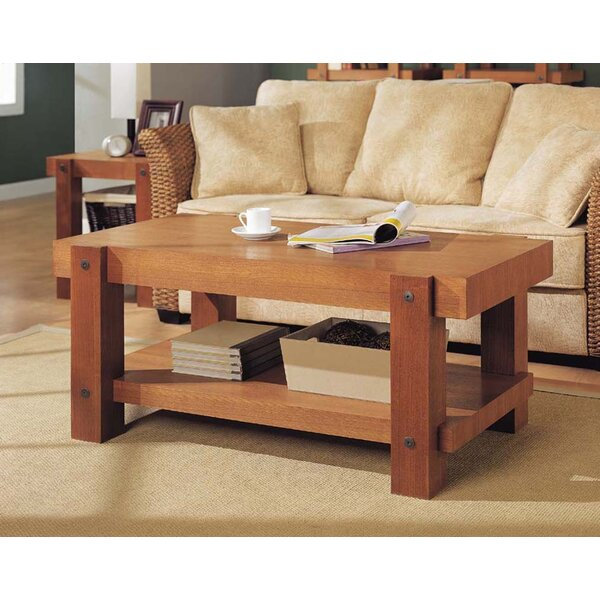 Robust Coffee Table by Organize It All