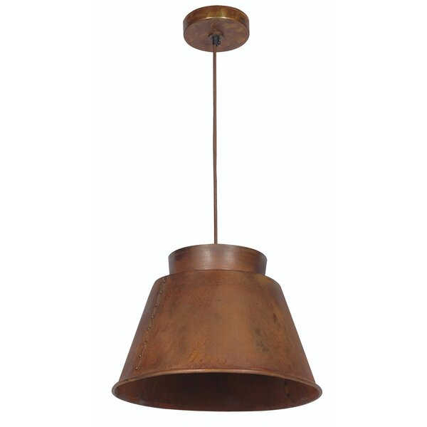 Ryder 1-Light Cone Pendant by Wildon Home ®