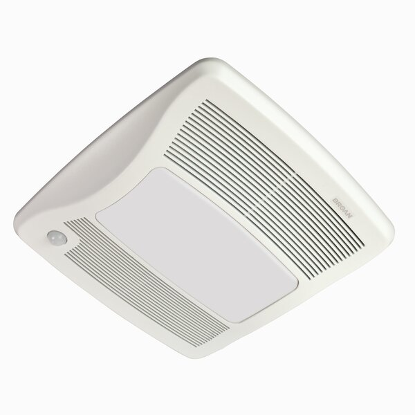 80 CFM Energy Star Bathroom Fan with Light by Broan