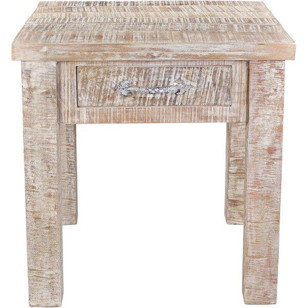 Cummings End Table With Storage By Loon Peak
