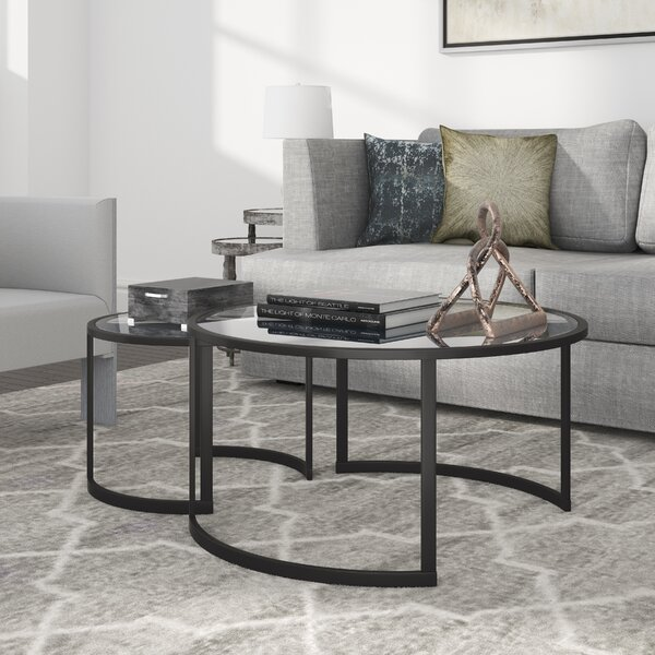 Mitera Coffee Table Set by Hudson&Canal