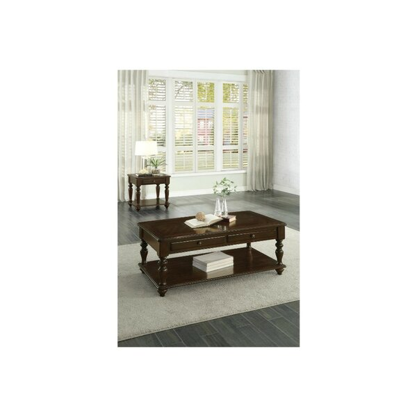 Aquinas 2 Piece Coffee Table Set by Canora Grey