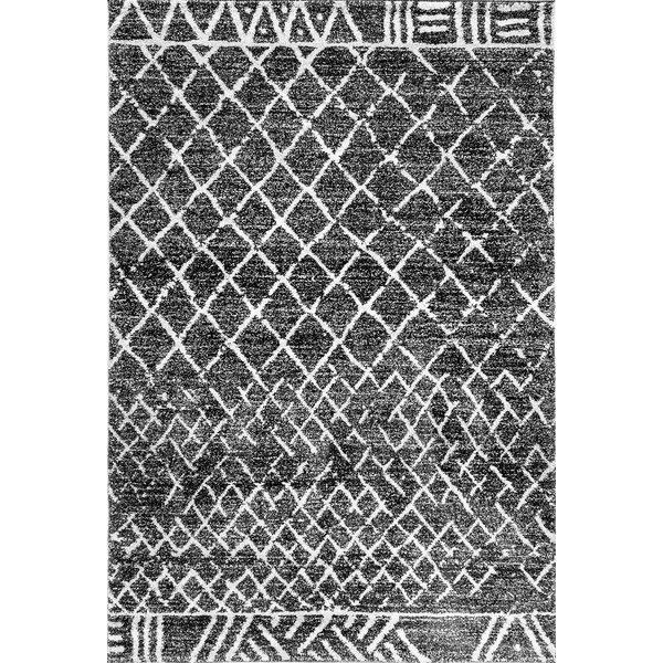Terrio Black Area Rug by Union Rustic