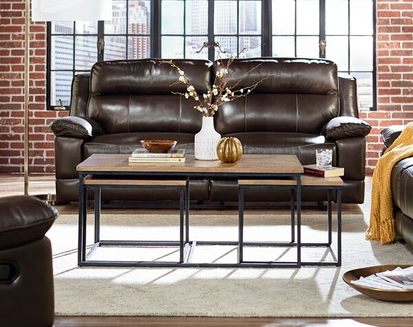 Ridgewood 3 Piece Coffee Table Set by Standard Fur