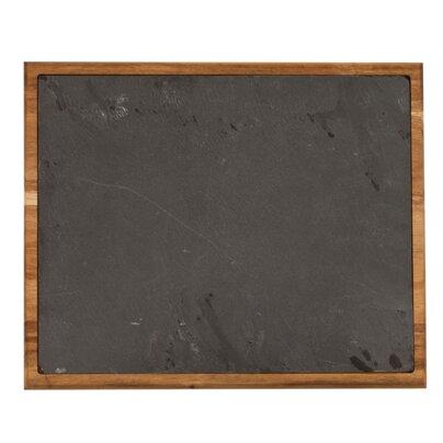 Farmhouse Wood Bound Slate Board by Twine