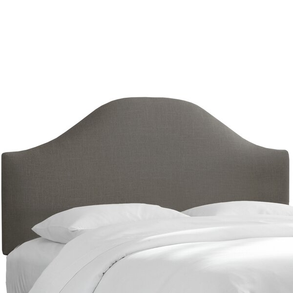 Curved Upholstered Panel Headboard by Alcott Hill
