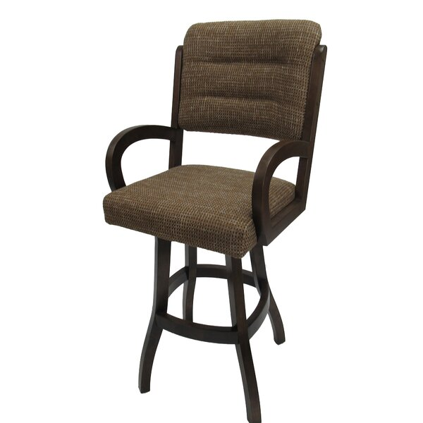 Graciela 30 Swivel Bar Stool by Red Barrel Studio