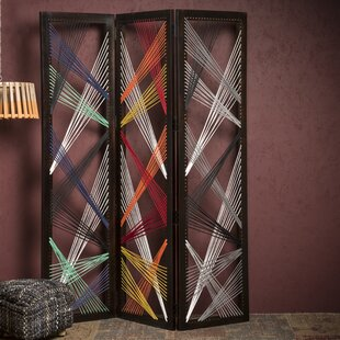 Updike 3 Panel Room Divider by Brayden Studio