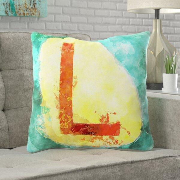Douglass Alphabet Throw Pillow