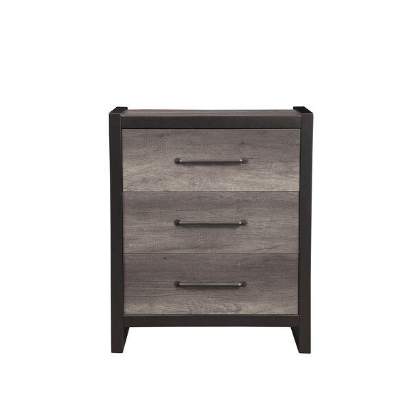 Hakana 3 Drawer Standard Dresser/Chest by Trent Austin Design