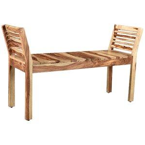Shanda Wood Bench by Union Rustic