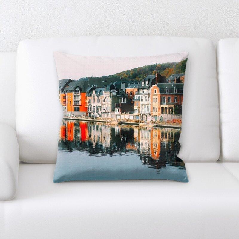 East Urban Home Dinant Throw Pillow