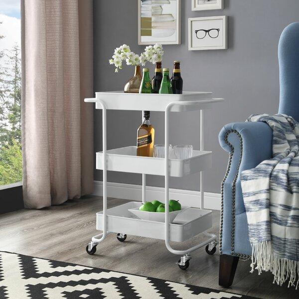 Cedarburg Bar Cart by Wrought Studio Wrought Studio