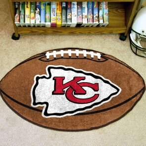 NFL - Kansas City Chiefs Football Mat by FANMATS