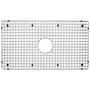 Blanco kitchen sink accessories youll love 2975 x 16 stainless steel sink grid by blanco workwithnaturefo