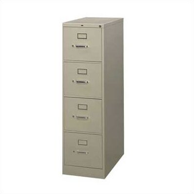 210 Series 4-Drawer Vertical Filing Cabinet by HON