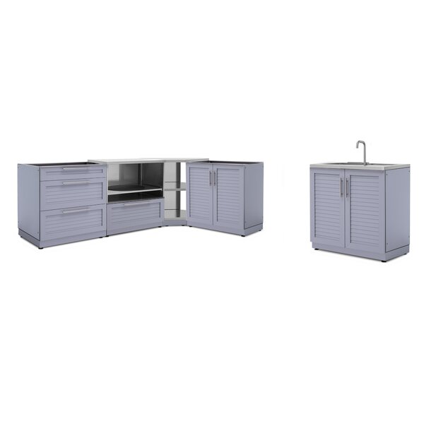 @ Kitchen 5 Piece Outdoor Bar Center Set by NewAge Products| #$4,149.99!