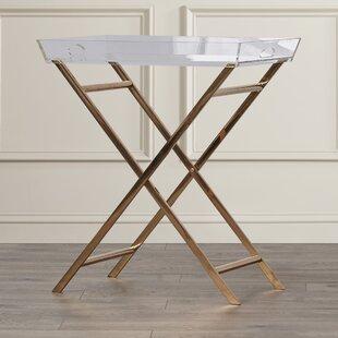 Levi Acrylic Tray Table