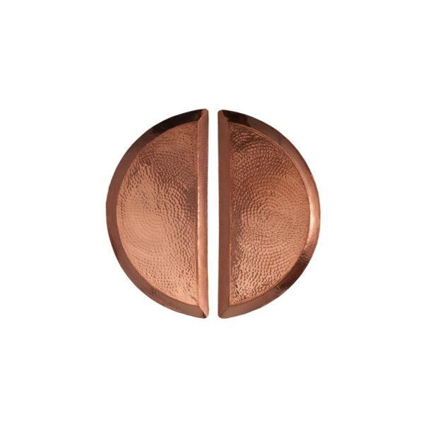 Aleppo Half Moon Platter (Set of 2) by Sertodo Copper