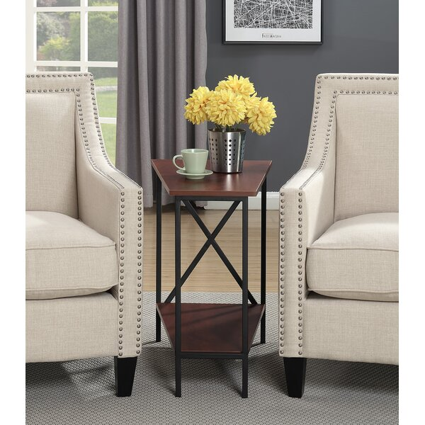 Steuben Wedge End Table by Andover Mills