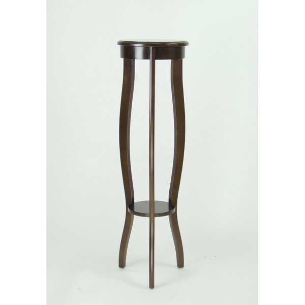 Timberlake Pedestal End Table by Alcott Hill