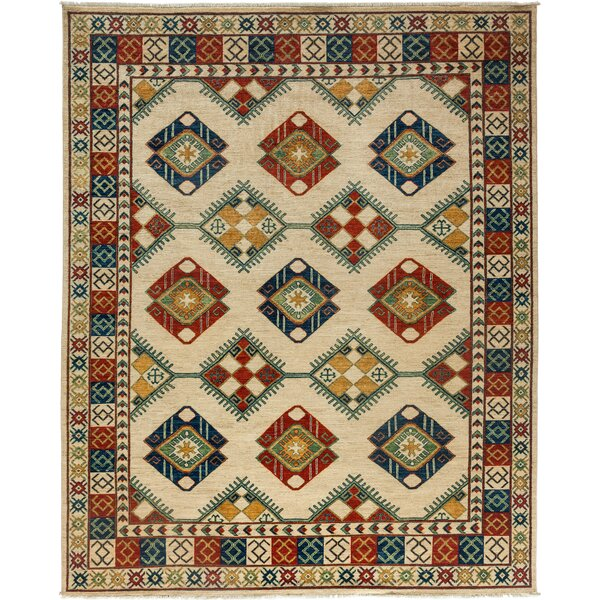 One-of-a-Kind Ziegler Hand-Knotted Ivory Area Rug by Darya Rugs