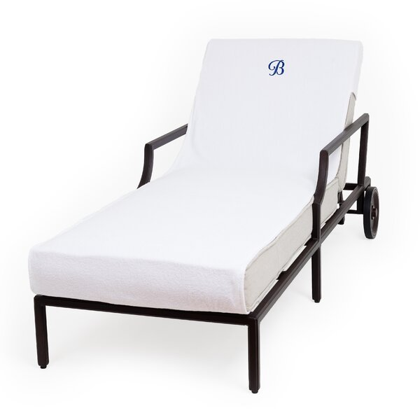 Personalized Standard Patio Chaise Lounge Cover by Breakwater Bay