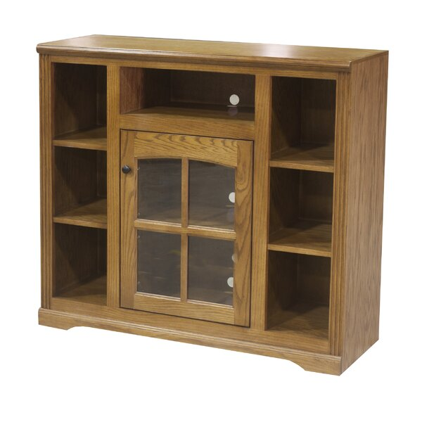 Patio Furniture Tilda Solid Wood TV Stand For TVs Up To 58