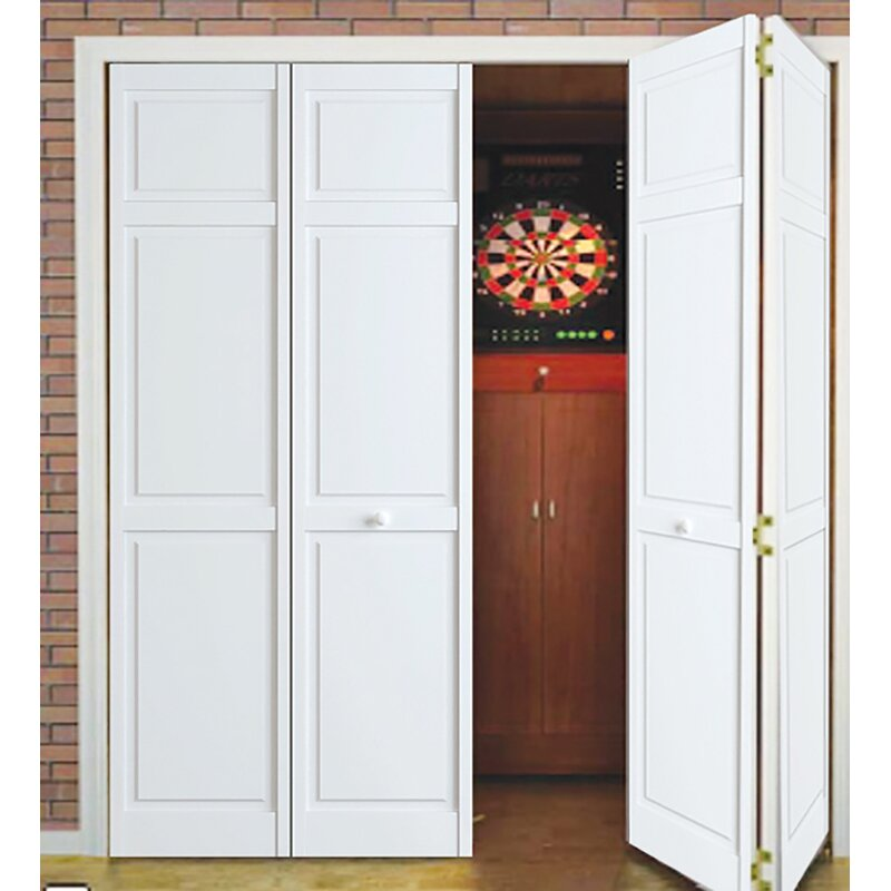 Delicieux Traditional Solid Wood Panelled Bi Fold Door