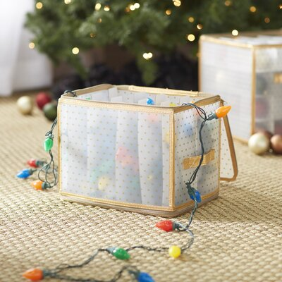 wayfair basics holiday light storage