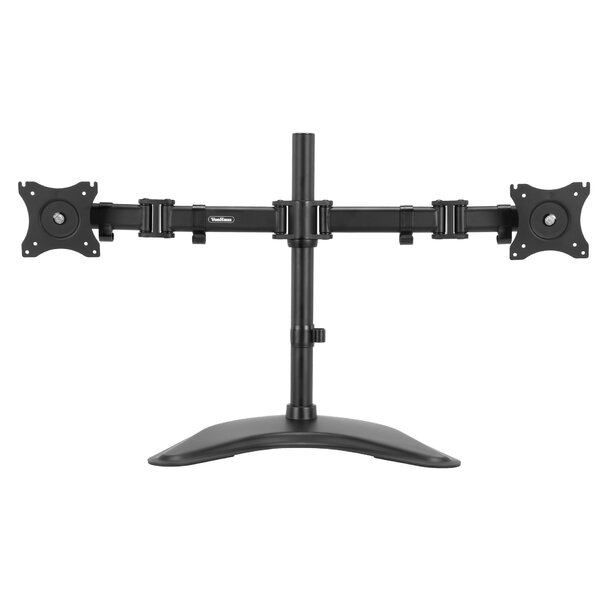 Double Arm Bracket 2 Screen Desk Mount by VonHaus