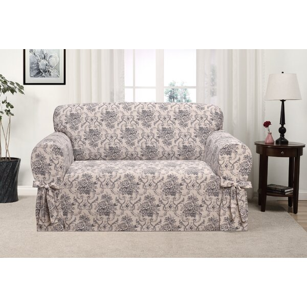 Box Cushion Loveseat Slipcover By One Allium Way