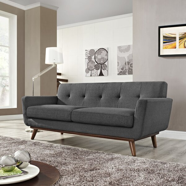 Online Review Johnston Tufted Loveseat Snag This Hot Sale! 60% Off