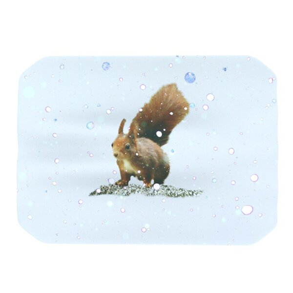 Squirrel Placemat by KESS InHouse