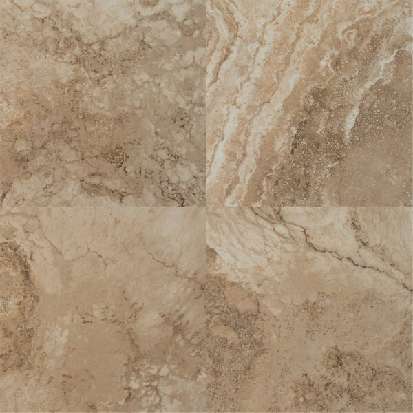 Napa Noce 20 x 20 Ceramic Field Tile in Brown by MSI