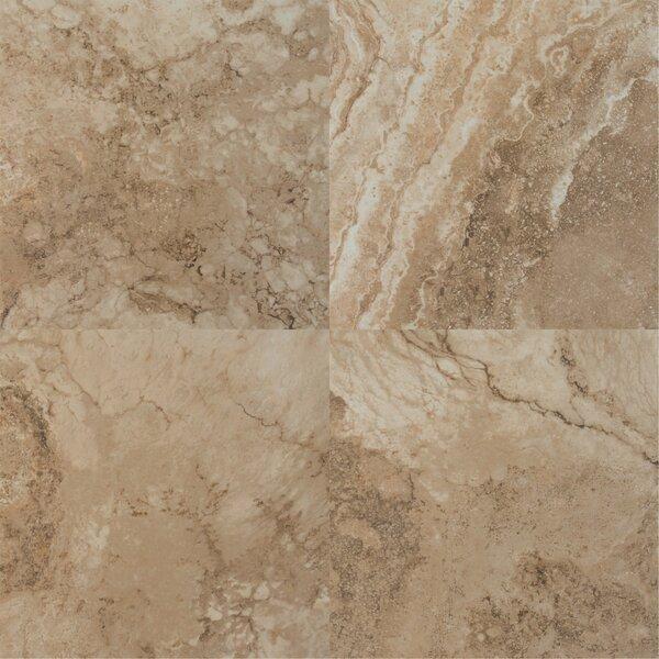Napa Noce 20 x 20 Ceramic Field Tile in Brown by MSI
