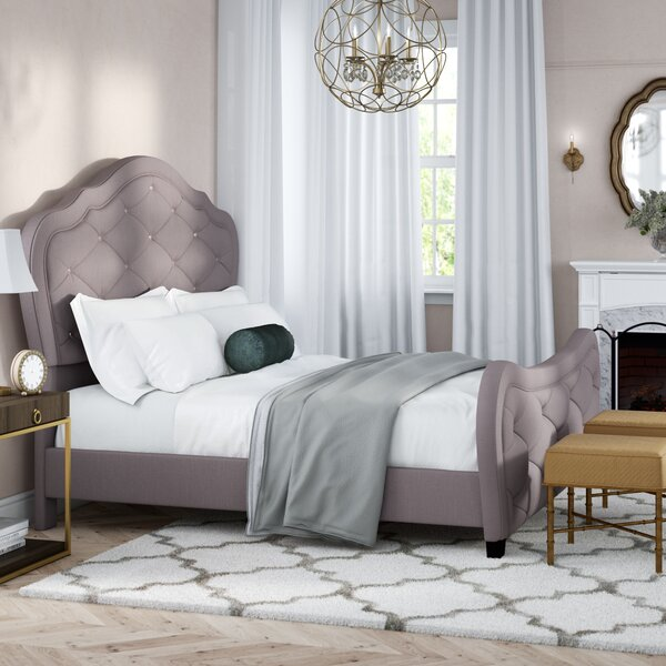 Caya Upholstered Standard Bed by Willa Arlo Interiors
