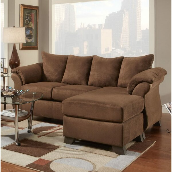 Homerville Reversible Sectional By Charlton Home