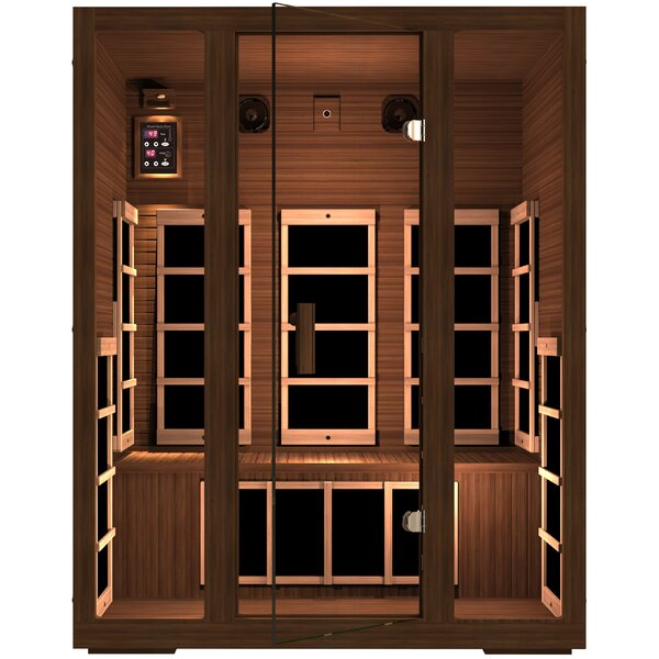 Freedom 3 Person FAR Infrared Sauna by JNH Lifestyles