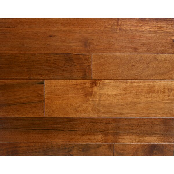 Arlington 5 Solid Walnut Hardwood Flooring in Walnut by Alston Inc.