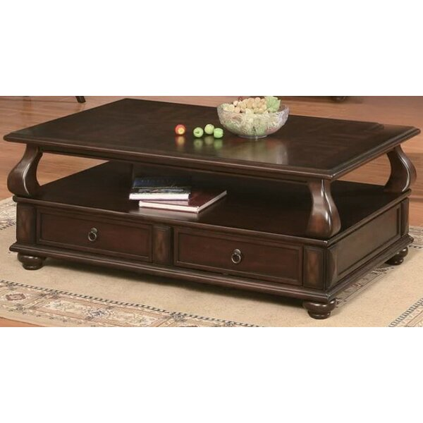 Charleen Coffee Table With Storage By Andrew Home Studio